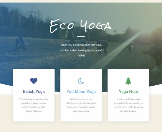 Yoga Fern Webpage
